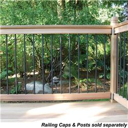 RailSimple Wood Railing Kits - Traditional Series