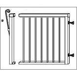"Lang Aluminum Railing Gates - 42"" Railing Systems