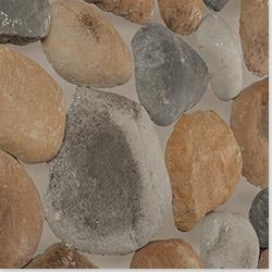 Black Bear Premium Manufactured Stone Container - River Rock