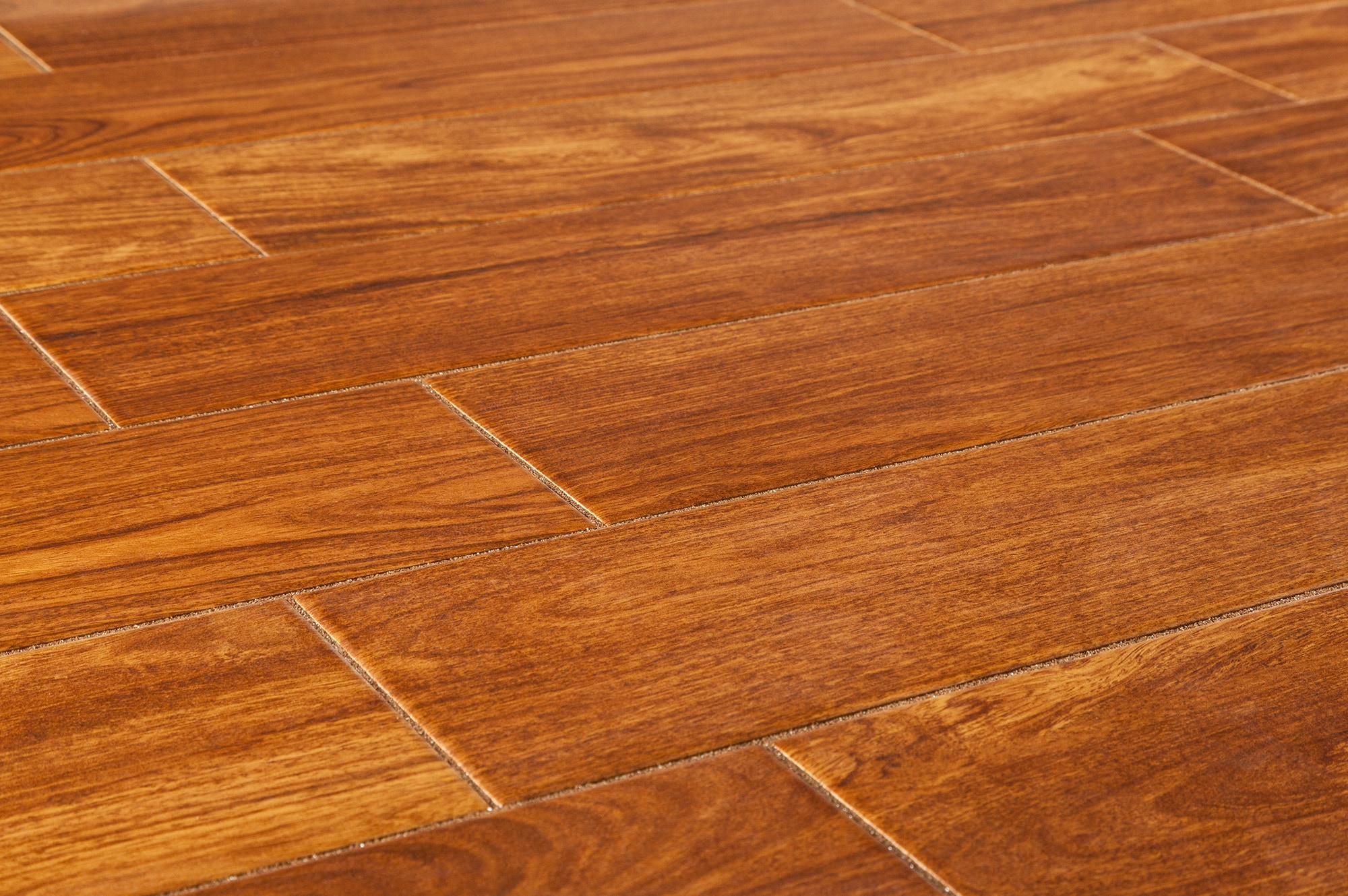 Wooden tile flooring