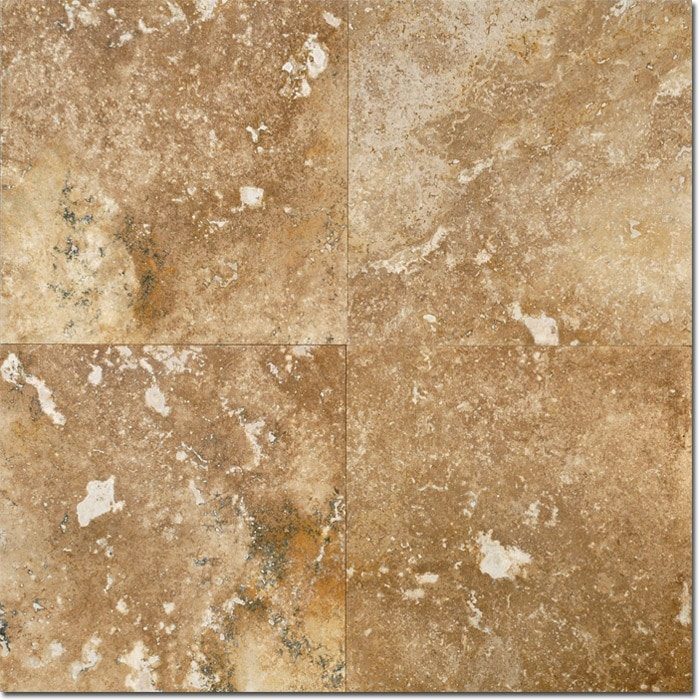Noce travertine floor tiles