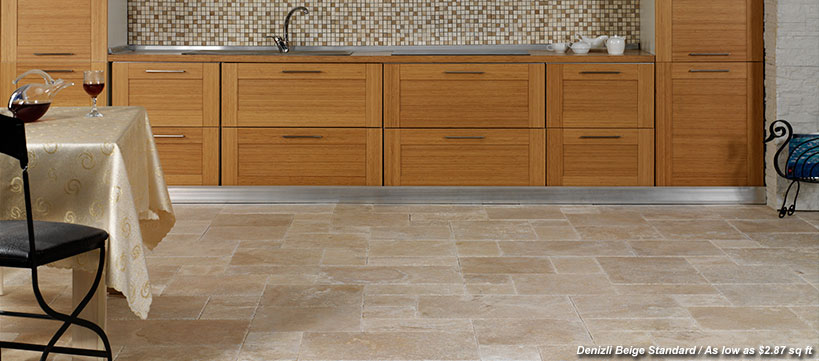 BuildDirect Travertine Tile Starting at $1.69 / sq ft