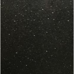 Century Home Living Black Galaxy Polished Granite Tile 18 x 18