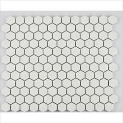 "COSMOPOLITAN Porcelain Mosaic 1"" Hexagon