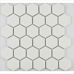 "COSMOPOLITAN Porcelain Mosaic 2"" Hexagon