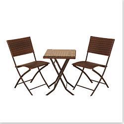 Kontiki Bistro Sets - Wooden Bistro Sets