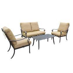 Kontiki Conversation Sets - Metal Sofa Sets
