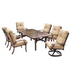 Kontiki Dining Sets - Metal Medium (Ideal for 6 Seats)