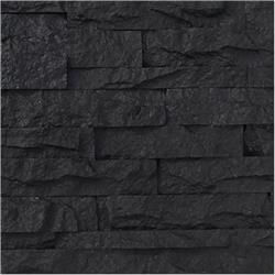 Black Bear Pallets Faux Stone Siding - Stacked Stone Collection