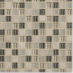 Cabot Mosaic Tile Glass Stone Blends Arctic Cloud 5 8