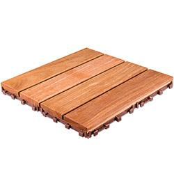 FlexDeck Interlocking Wood Deck Tile