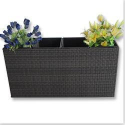 Kontiki Outdoor Planters - Wicker Planters
