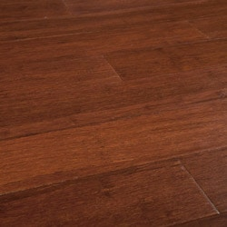 Yanchi Bamboo Click Lock Barn Plank Strand Woven Model 150020781 Bamboo Flooring