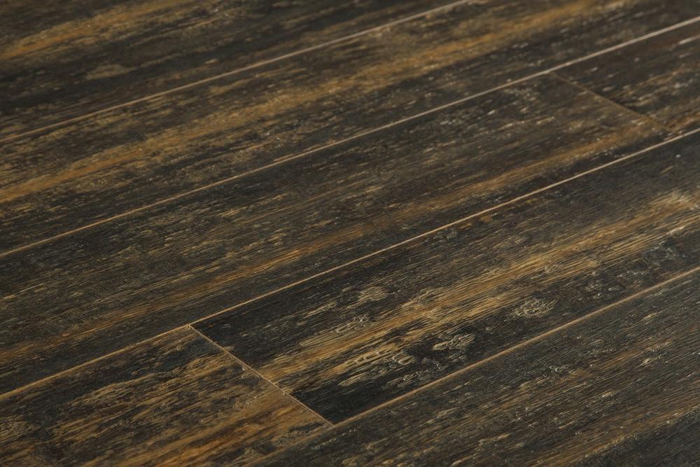 FREE Samples: Yanchi Bamboo Flooring - Handscraped Strand ...