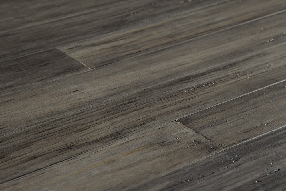 Free Samples Yanchi Bamboo Flooring Handscraped Strand