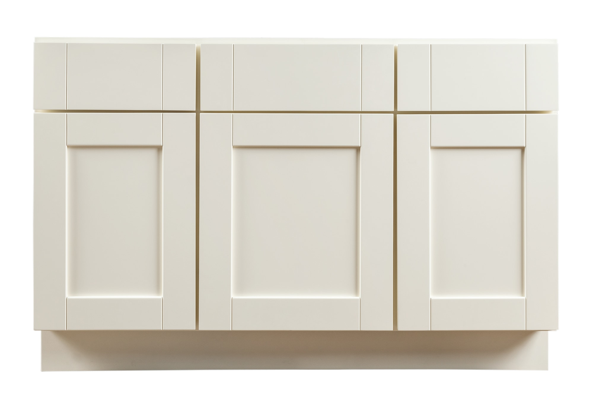 Grafton Bathroom Vanity Cabinets Craftsman Collection White 48 X21 X31 5 Shaker Panel Painted