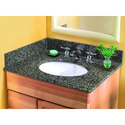 Pedra Granite Vanity Top with UM Oval Bowl Model 100939121 Bathroom Vanities