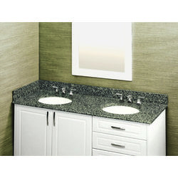 Pedra Granite Vanity Top with UM Oval Bowl Model 100939301 Bathroom Vanities