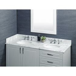 Pedra Marble Vanity Top with UM Oval Bowl Model 100941311 Bathroom Vanities