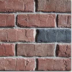 Black Bear Manufactured Stone Brick Model 101063681 Brick Siding
