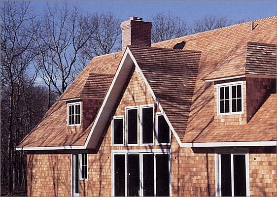 "- Red Cedar Shingles / 18"" #1 Perfections / Natural - sku:10082395"