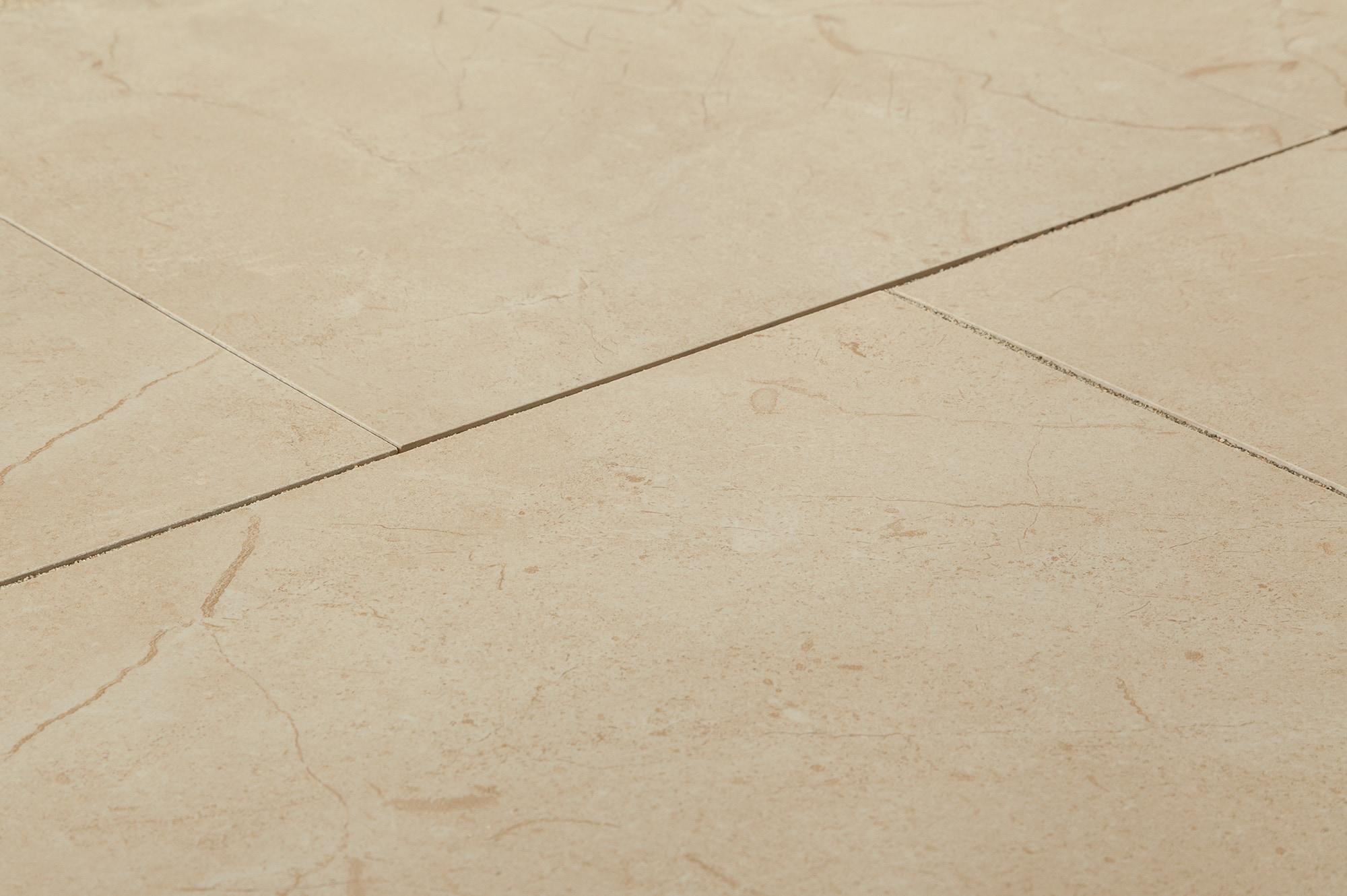 Kaska porcelain tile alicante series crema marfil 12 x12 for 12x12 porcelain floor tile