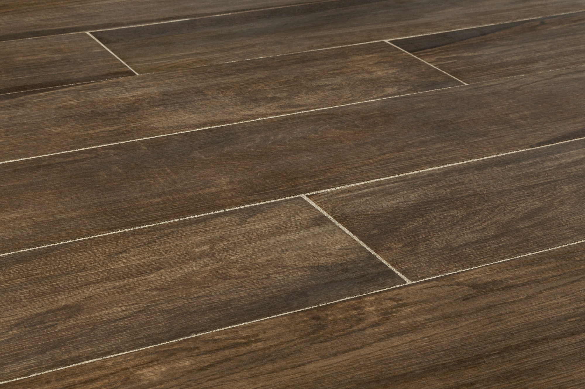 Kaska porcelain tile amazon wood series rio palm 6 x36 for Tile and hardwood floor