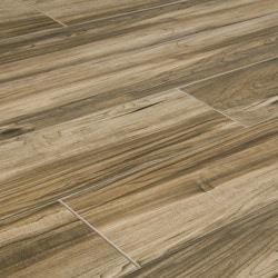 Salerno Porcelain Tile Highland Wood Series Model 150000081 Flooring Tiles