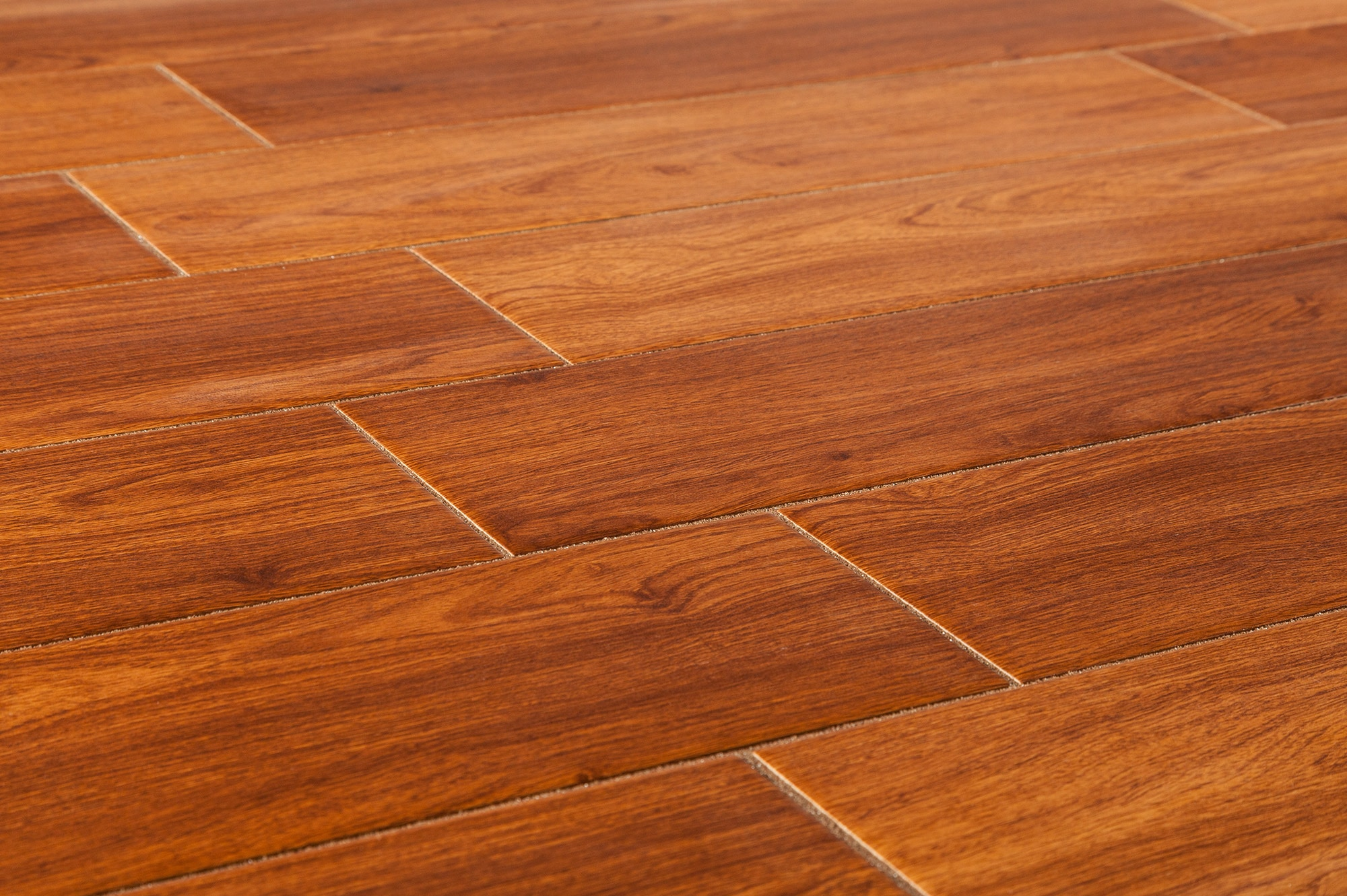 Salerno ceramic tile american wood series red oak 6 x24 for Tile and hardwood floor