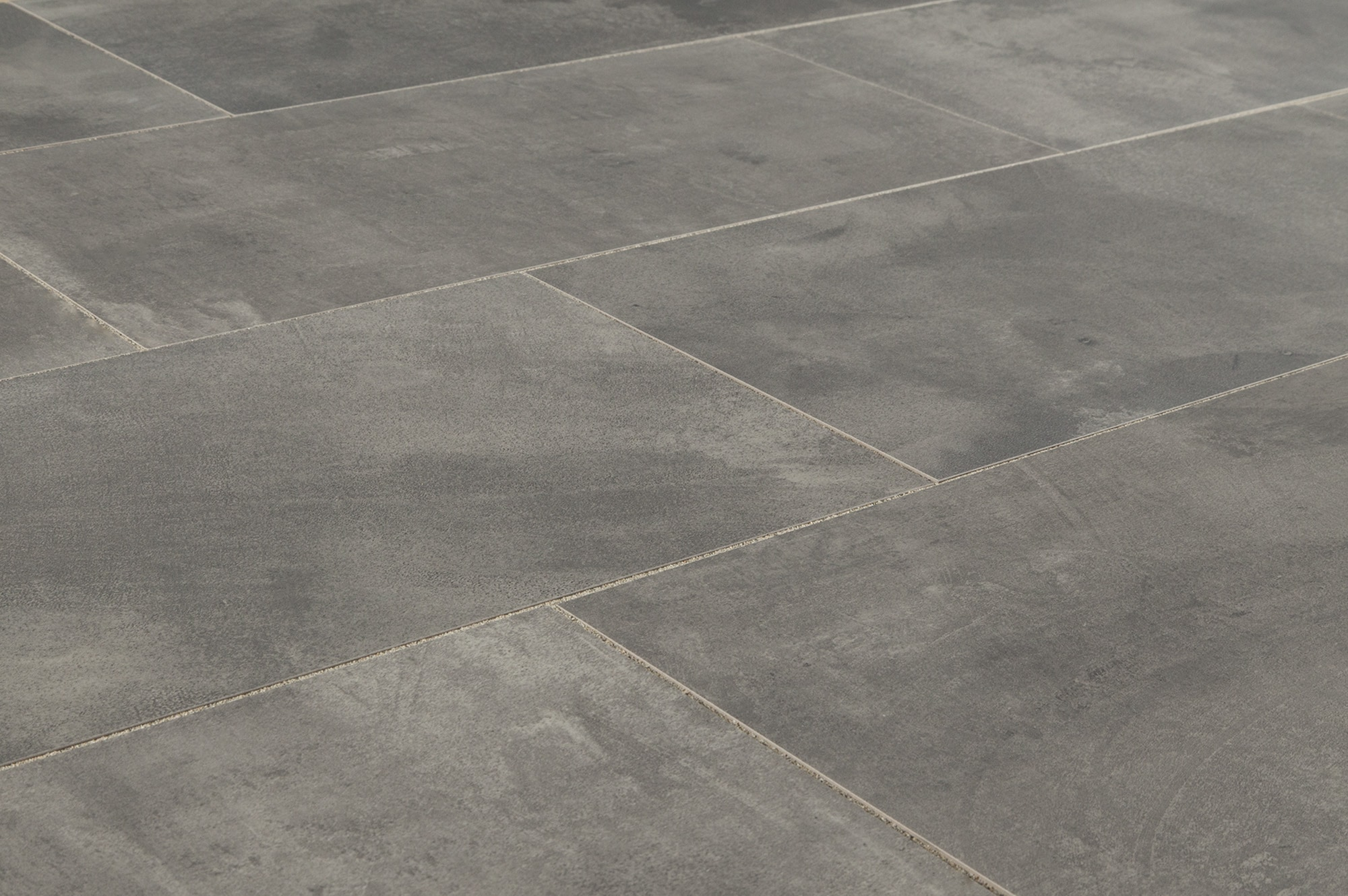 Salerno Porcelain Tile Concrete Series Dark Gray 12 X24