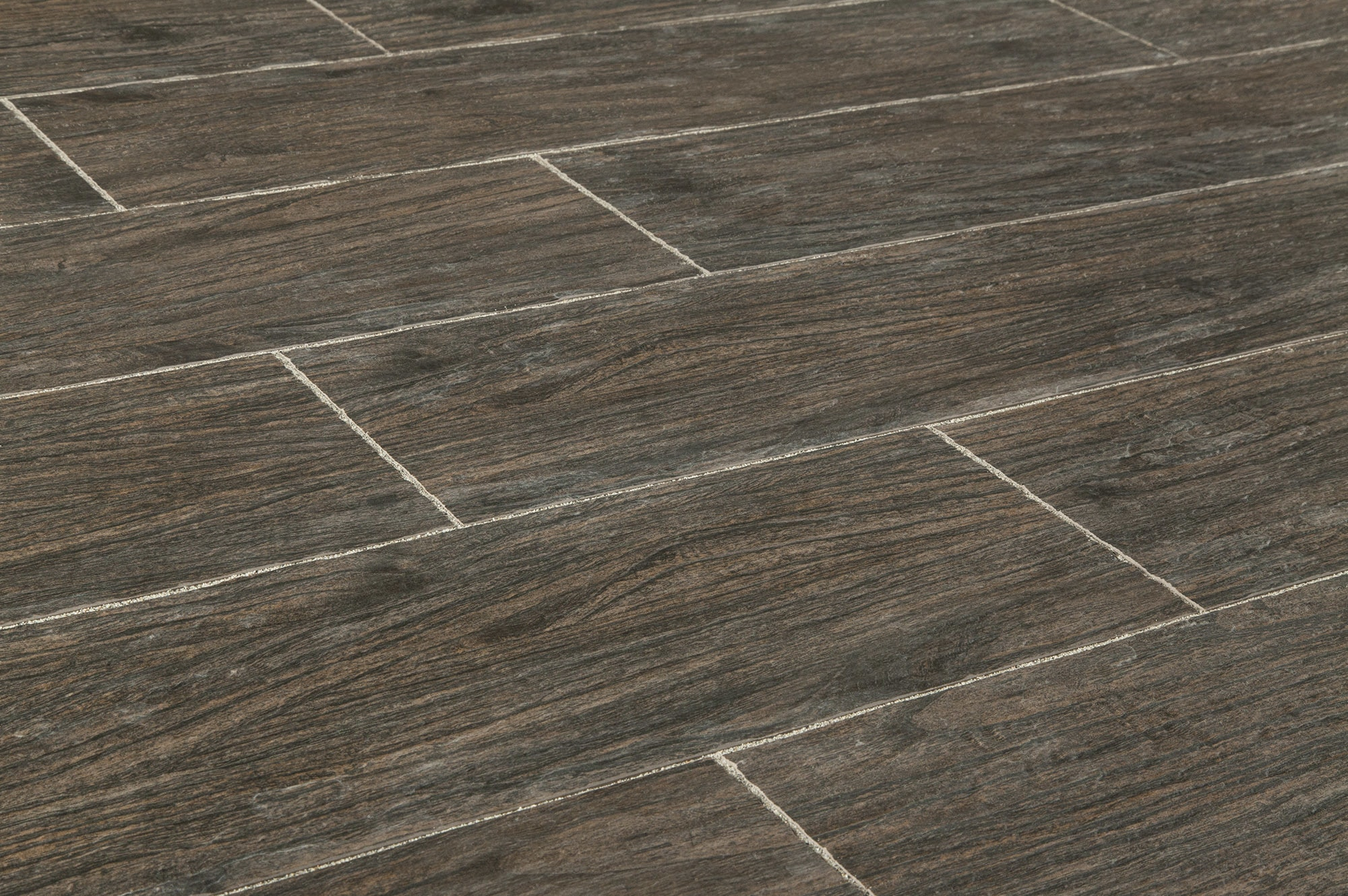 Salerno Porcelain Tile - Sherwood Series Espresso Embossed ...