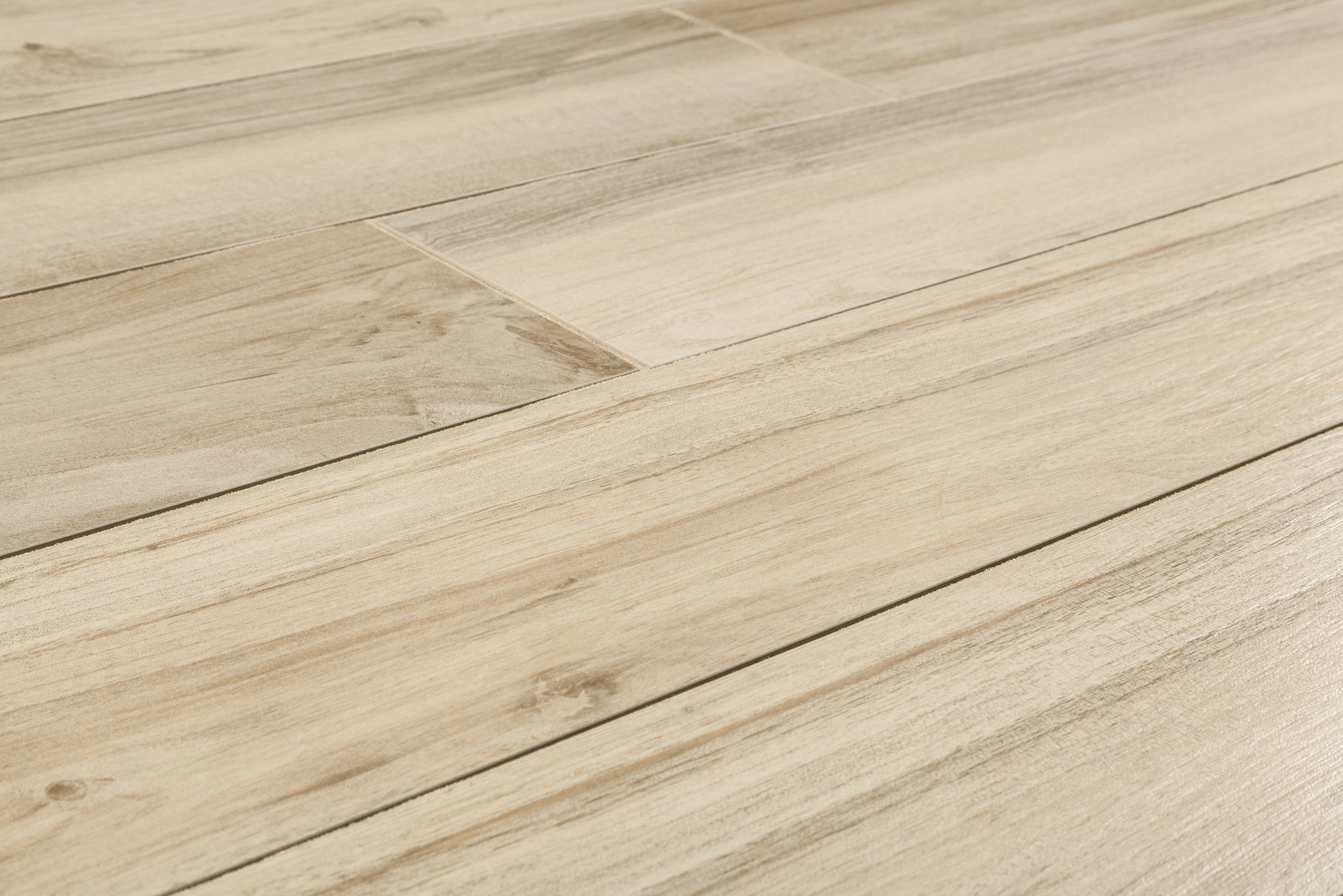 "Salerno Porcelain Tile - Urban Wood Series Beige / 8""x48"""