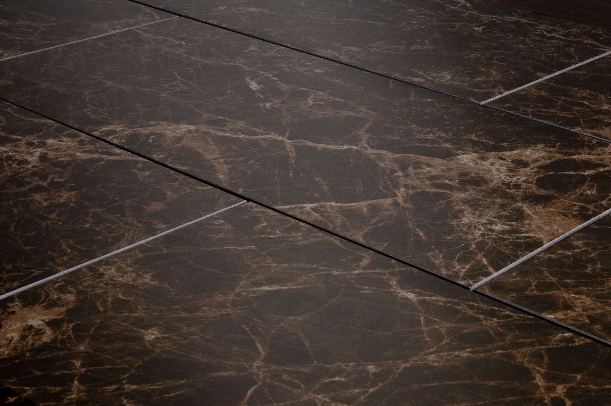 Takla Porcelain Tile Polished Marble Series Dark