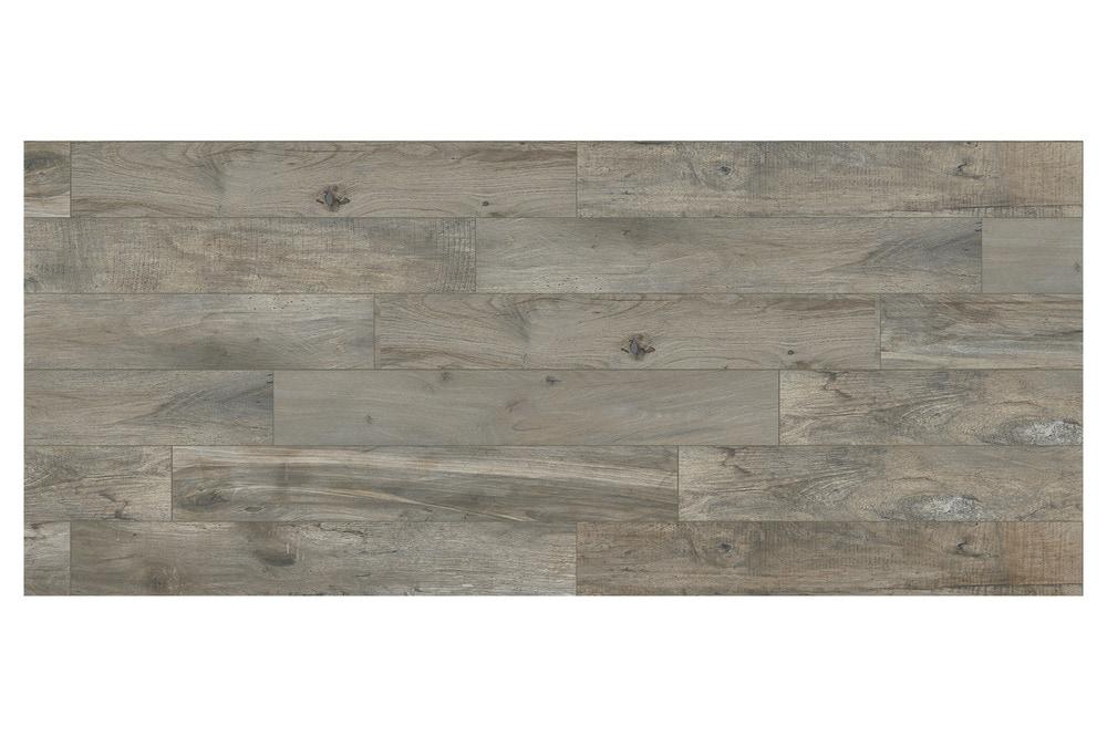 Grey Wood Tile : Home Flooring Tile Flooring Ceramic & Porcelain Tile All Products Gray ...