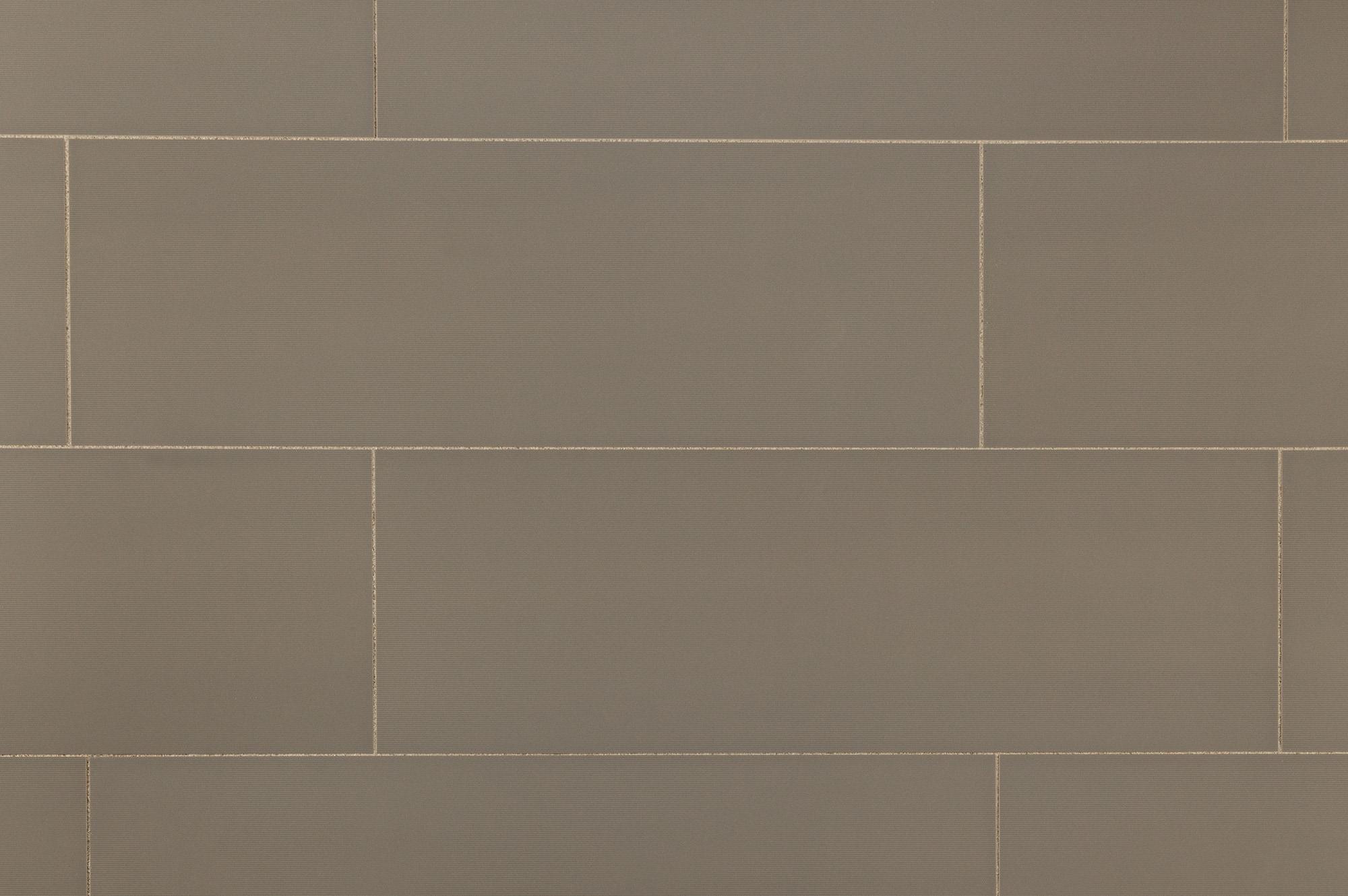 Alzatina Ceramic Wall Tile Linea Collection Gray Acero Linear 12 X36 Q