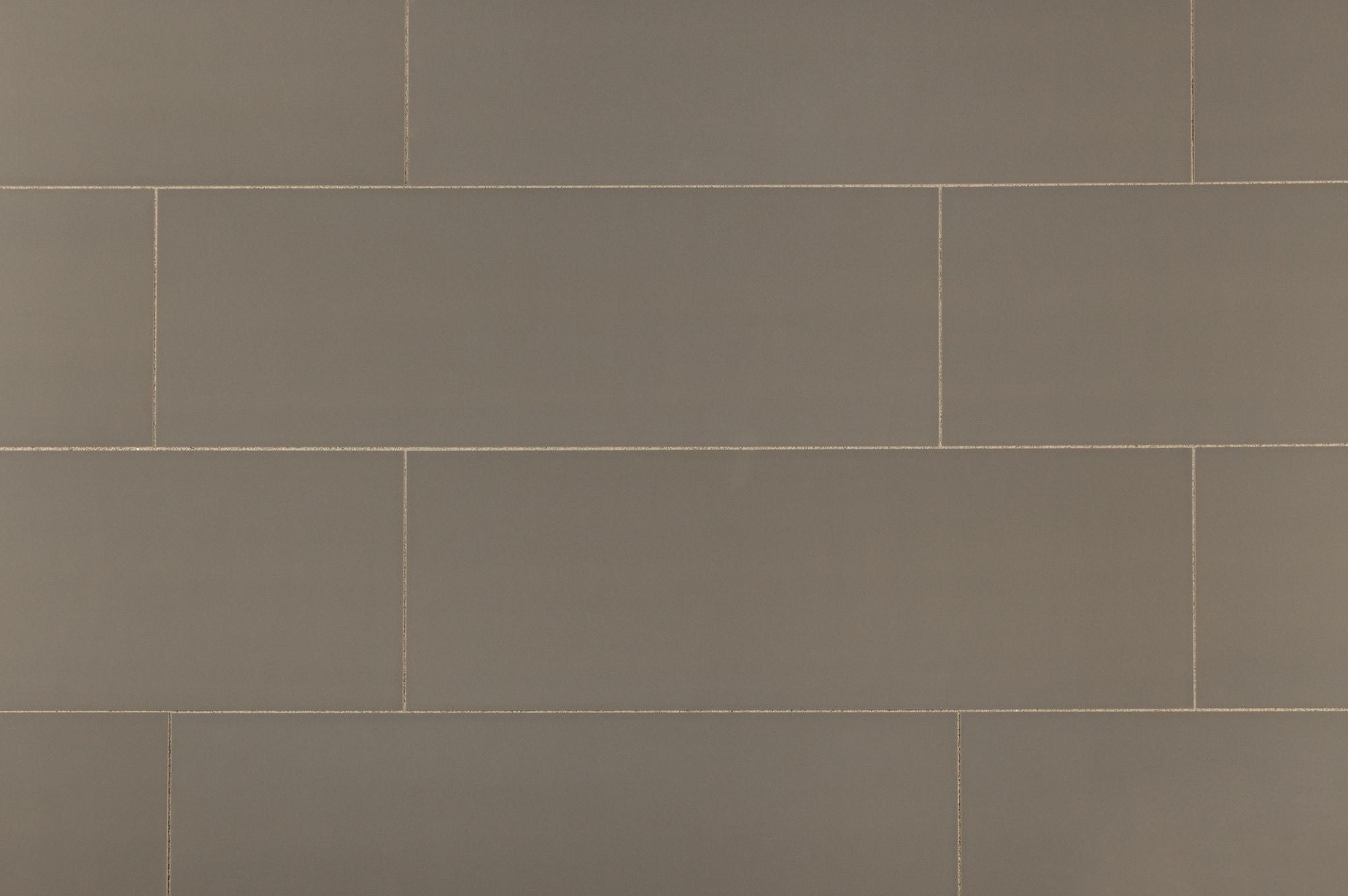 Alzatina Ceramic Wall Tile Panel Collection Gray Urban 12 X36