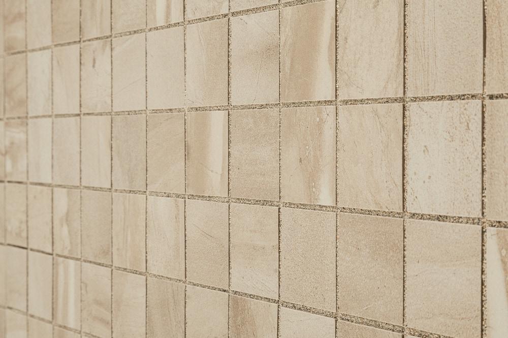 Kaska Porcelain Mosaic Canton Series Beige 2 Quot X2 Quot Glazed