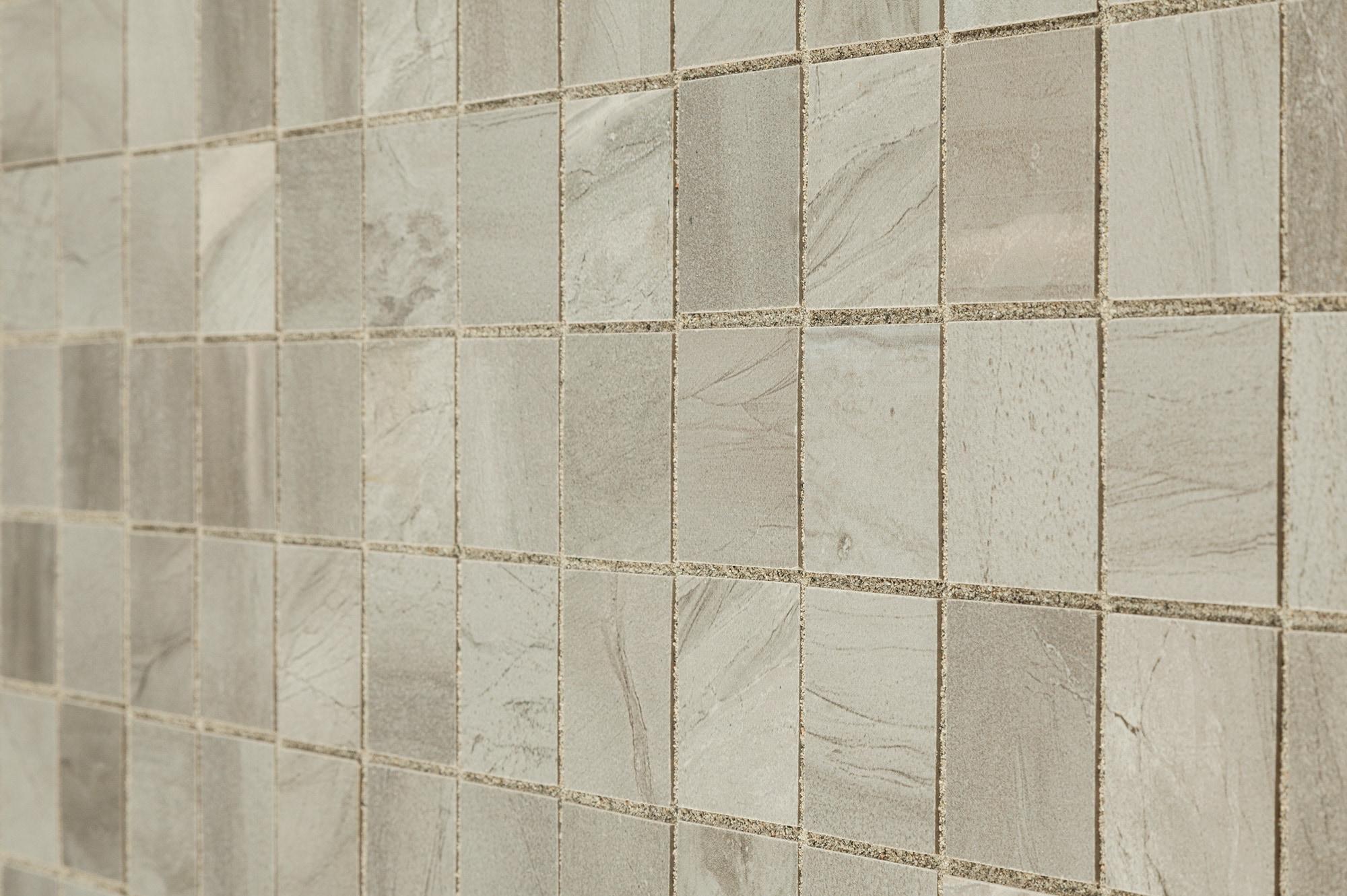 Kaska Porcelain Mosaic Canton Series Light Gray 2 Quot X2