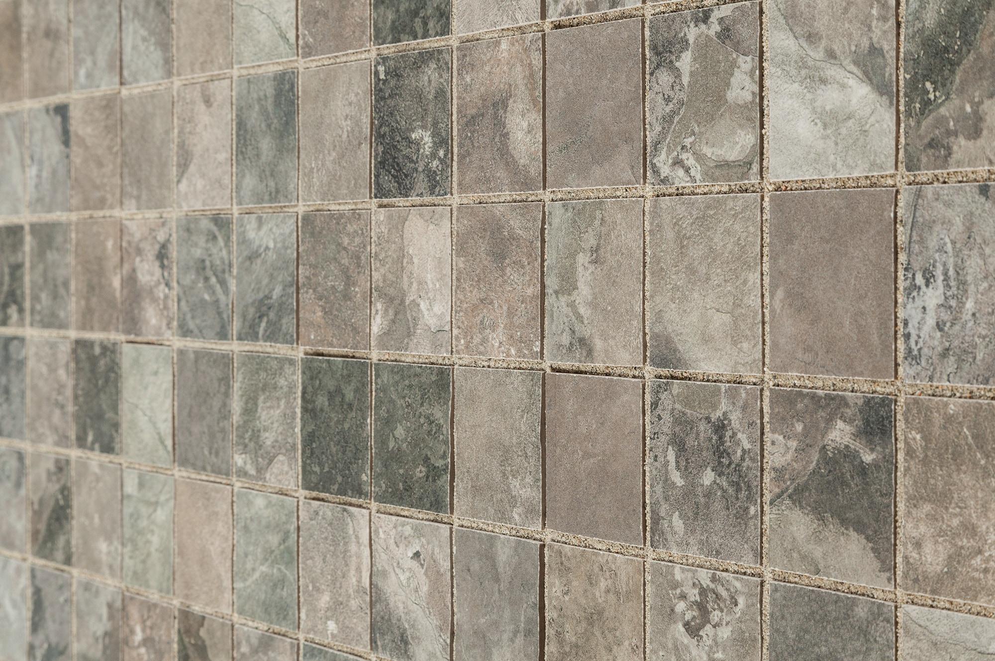 Kaska Porcelain Mosaic Slate Series Gris 2 Quot X2 Quot Glazed