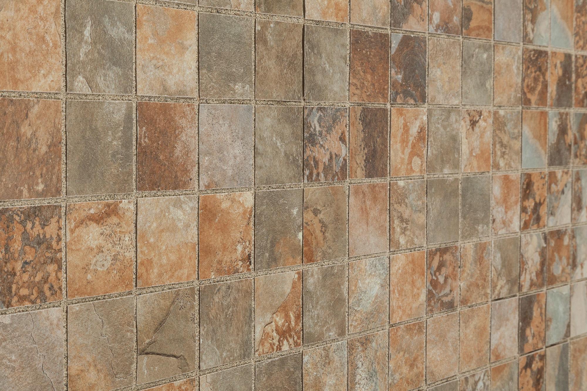 Kaska Porcelain Mosaic Slate Series Multicolor 2 Quot X2 Quot Glazed