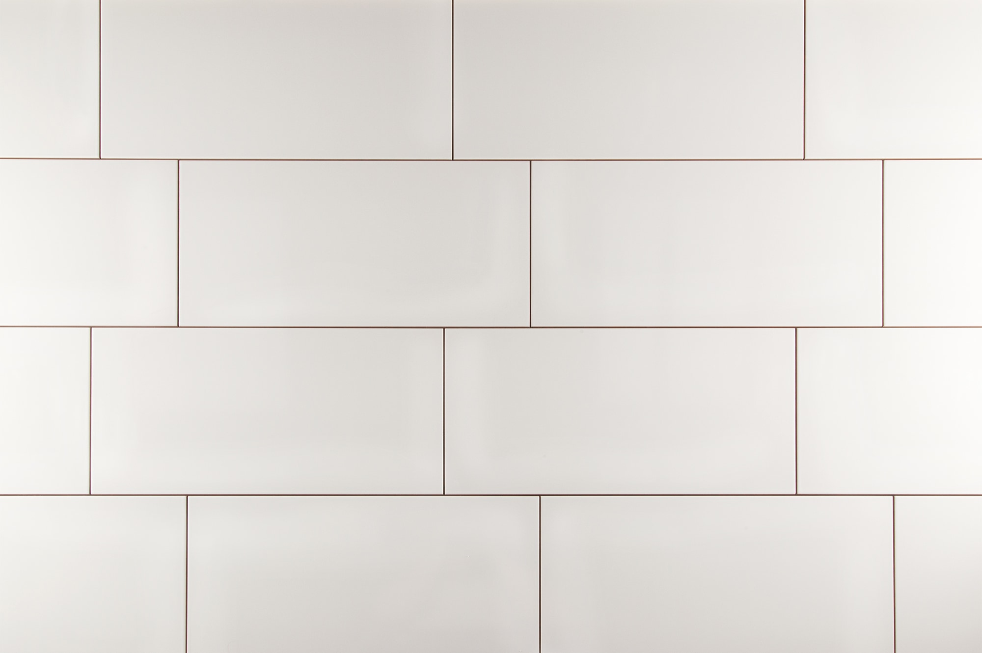 Kaska Wall Tile Rockefeller Series Glossy White Ceramic Wall Tile 12 X24