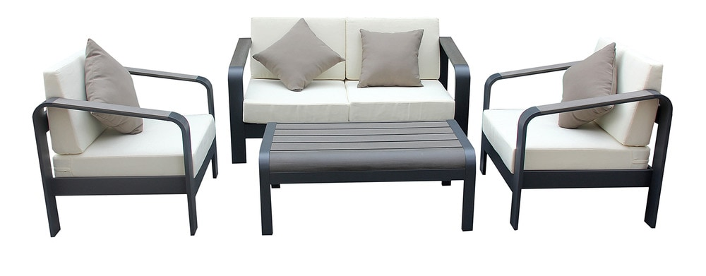 Kontiki Conversation Sets Metal Sofa Sets Leeno 4 Piece