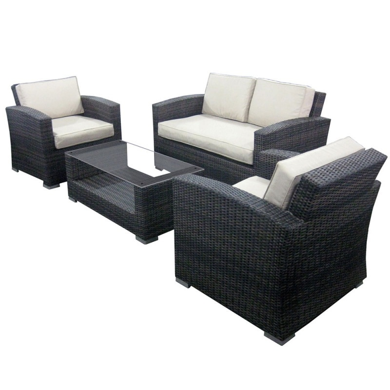 New 28 Wicker Sofa Set Outside Edge Garden Furniture Rattan 4 Seater Sofa Set For Outdoor