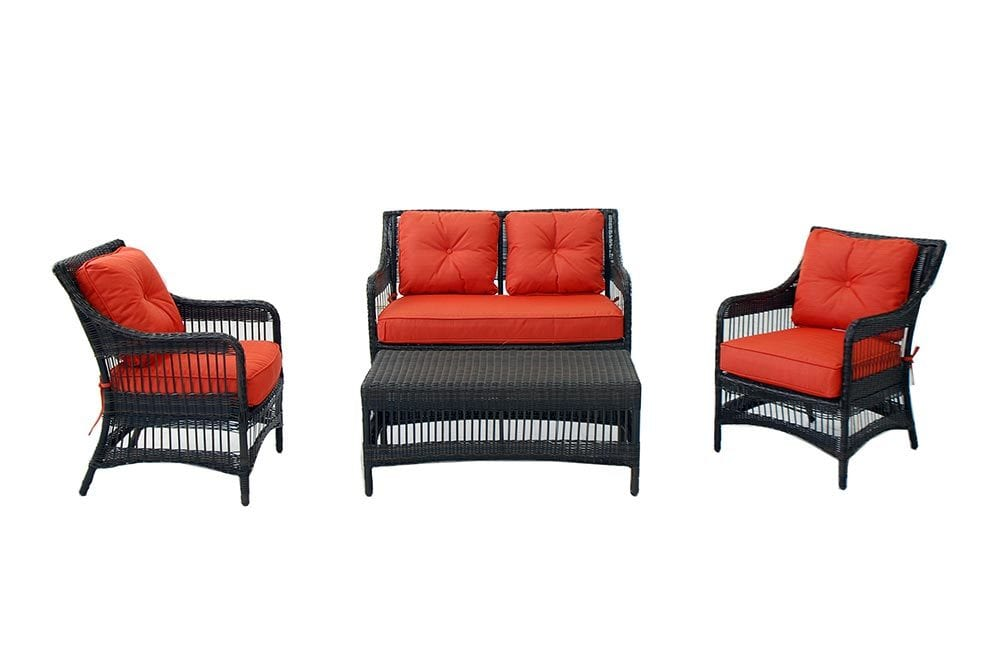 Warehouse clearance conversation sets wicker chat sets for Wicker patio furniture sets clearance
