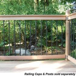 RailSimple Wood Railing Kits Traditional Series Model 100956411 Deck Railings