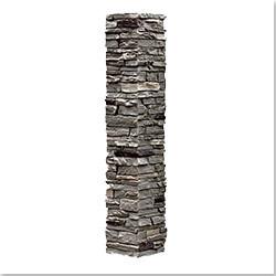 StoneWorks Faux Stone 2 Piece Railing Post Covers Model 101048131 Deck Railings