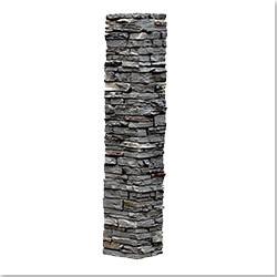 StoneWorks Faux Stone 2 Piece Railing Post Covers Model 101048161 Deck Railings