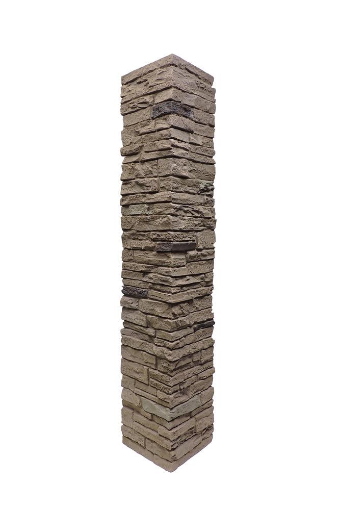 Stoneworks Faux Stone Railing Post Covers Rose Railing