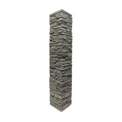 Free samples stoneworks faux stone railing post covers for Environmental stoneworks pricing