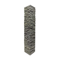 StoneWorks Faux Stone Railing Post Covers Model 100947041 Deck Railings
